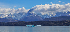 A hundred shades of blue... / Сто оттенков синего... (Vladimir Zhdanov) Tags: travel argentina patagonia andes elcalafate mountains nature landscape lake lagoargentino iceberg snow water sky cloud mountainside rock