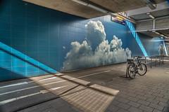2019 Bike 180: Day 21, February 17 (suzanne~) Tags: 2019bike180 bike bicycle munich germany bavaria tunnel pasing