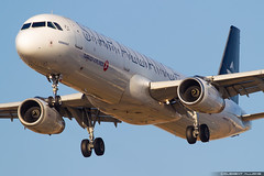 Turkish Airlines Airbus A321-231 cn 2868 TC-JRB (Clément Alloing - CAphotography) Tags: turkish airlines airbus a321231 cn 2868 tcjrb barcelona airport barcelone lebl bcn canon 100400 spotting aeropuerto airplane aircraft 25r 07l balcon t1 flight airways aeroplane engine sky ground take off landing 1d mark iv
