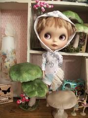 This Girl is a Cutie Pie!!! (simplychictiques) Tags: sammydoecustom erindeirooakcustomblythedoll faceupbyerindeir freshenupbyblythette eblbasedoll alpacarerootbyallykitty knotmethodreroot naturallight highlightsinhair 2010custom sammydoecustomblythedoll childlike cute whimsical blythetterepaint newgirl meetzoe toys mystudio chantillylaceeyechips hoody zoe