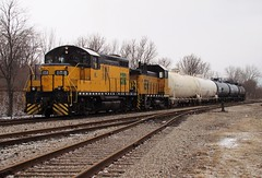 ETR leaving Honeywell (Myles Roach) Tags: etr amherstburg essex terminal railway 108 104 gp9 train caso general chemical allied brunner mond limited