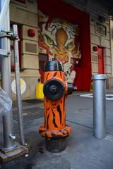 Tiger Fire Hydrant Engine Company 6 Tigers (thoth1618) Tags: ny nyc manhattan lowermanhattan lower tiger fire hydrant firehydrant tigerfirehydrant e6 enginecompany6 tigers fdny newyork newyorkcity newyorkcityfiredepartment firedepartmentofthecityofnewyork
