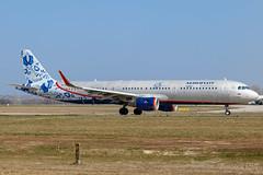 "VP-BEE   Aeroflot - Russian Airlines (""95th Anniversary"" livery)   Airbus A321-211   BUD/LHBP (Tushka154) Tags: hungary specialscheme a321200 a321211 airbus ferihegy budapest a321 95thanniversary aeroflotrussianairlines spotter vpbee aeroflot airbusa321 aircraft airplane avgeek aviation aviationphotography budapestairport lhbp lisztferencinternationalairport planespotter planespotting spotting аэрофлот"