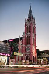 Nhà thờ Tân Định, l'Église Rose de Sài Gòn