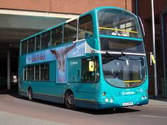 Arriva Volvo B7TL (Wright Gemini) 4024 UUI 2948 (LJ51 DGE) (Alex S. Transport Photography) Tags: bus outdoor road vehicle arriva arrivatheshires arrivamidlands volvob7tl wright gemini 4024 uui2948 lj51dge vlw16 route300