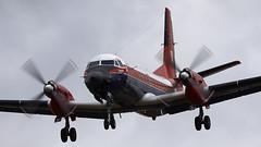 Andover (Bernie Condon) Tags: hawkersiddeley andover transport airliner cargo passenger test trials mod qinetiq boscombedown aaee etps gauntlet military boscombe airfield wilts uk