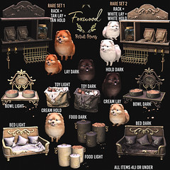 Foxwood - Petit Pom @ Lootbox (Dani @ Birdy/Foxes/Alchemy) Tags: screenshot sl secondlife pom pet dog puppy decor home mesh