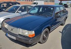 1993 Volvo 940 GL (FromKG) Tags: volvo 940 gl blue car kragujevac serbia 2019