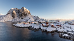 Le paradis blanc (flo73400) Tags: landscape norway hamnoy paysage winter hiver rorbuer