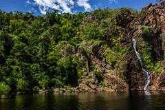 Wangi Falls (Markus Branse) Tags: wangi falls litchfield national park northern territory australia jan 2016 wasserfall wasserfälle waterfal waterfalls wasser fluss wald himmel felsen gras baum berg