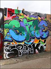 Stae / Spook (Alex Ellison) Tags: stae spook southlondon urban graffiti graff boobs