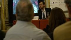 José María García Redondo, doctor en Historia por la Universidad Pablo de Olavide de Sevilla (Casa de América) Tags: casaamerica casadeamerica casamerica madrid latinoamerica iberoamerica americalatina josemariagarciaredondo nievesblanco hernancortes entredosoceanos historia