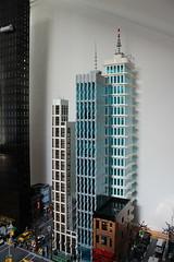 "Apartment Highrise ""The Cloud"" Final (sponki25) Tags: legonyc highrise the cloud apartment apartments economic living lego moc design skyscraper new york city"