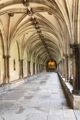 IMG_5193 Cloister and vaulting (Beth Hartle Photographs2013) Tags: norfolk norwich cathedral anglican ancient historic benedictine monastery churchofengland ceilingvaulting 13thcentury