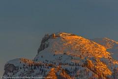 Die Abendsonne neigt sich über dem Untersberg.... (Augenblicke vom Salzburger u. Berchtesgadener Land) Tags: salzburg österreich untersberg berge abendsonne abendrot sonnenuntergang winter schnee natur landschaft