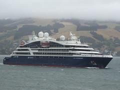 Le Laperouse passing Maia (geoffreyw@kinect.co.nz) Tags: le laperouse cruiseship maia