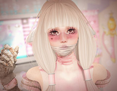Love sick (Gabriella Marshdevil ~ Trying to catch up!) Tags: sl secondlife cute kawaii doll chobits cubiccherry