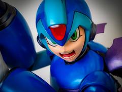 MEGAMAN X HMO BLUE (The Megaman Collector) Tags: megaman x hmo blue