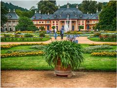 Schloss Pillnitz - Bergpalais mit Lustgarten (ahand grafX) Tags: sahsen dresden pillnitz schlösser
