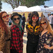 Group of Girls at Melrose Trading Post - West Hollywood, CA