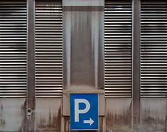 Parking (jefvandenhoute) Tags: belgium belgië liège lines shapes geometric