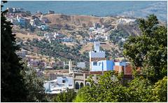 515- PAISAJE DE XAUEN - MARRUECOS - (--MARCO POLO--) Tags: ciudades exotismo marruecos rincones curiosidades arquitectura edificios