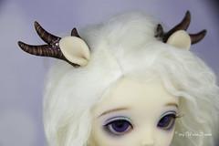 Commissioned deer set YOSD (AnnaZu) Tags: deer antlers tail ears brown set commission littlefee luna doll fairyland yosd horns polymer cay annazu annaku vesnushkahandmade clay fantasy parts commissions