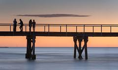 Semaphore Adelaide SA (Helen C Photography) Tags: semaphore adelaide australia beach ocean summer evening sunset water orange silhouette seascape jetty pier abigfave