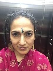 custom teep by Neeta (on my way to the post wedding bo-bhath event) (olive witch) Tags: 2018 abeerhoque bangladesh bd dec18 december dhaka indoors me night sadiawedding wedding