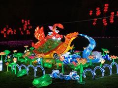 Chinese lanterns round 2 (Barry Carthy) Tags: mythical chinese giant lanterns zoo edinburgh edinburghzoo