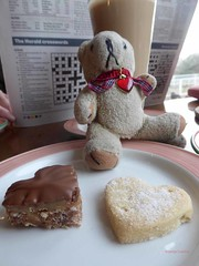 DT & Valentine Hearts (g crawford) Tags: dt dangerted ted teddy teddies teddys teds valentine valentines valentinesday cafe coffee latte shortbread chocolate heart hearts toy crawford cherryorchard crossword westkilbride ayrshire northayrshire