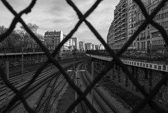 (numéro six) Tags: 75017 railway urban urbano urbain city ville cidade ciudad cityscape paris france