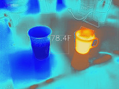 Hot and cold (tpeters2600) Tags: infrared thermal thermalimage