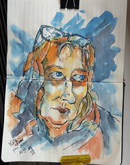 Kate Nixon (dege.guerin) Tags: portrait jkpp juliakaysportraitparty sketch