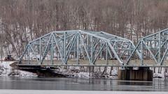 Bridge Construction (blazer8696) Tags: 2019 bridgewater ct connecticut ecw hdr housatonic img382123natural obtusehill river southville t2019 usa unitedstates bridge truss