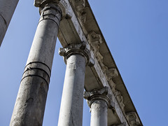 Roman Forum (dckellyphoto) Tags: italy italia rome roma 2019 lazio europe romanforum forum ruins old ancient columns lookup