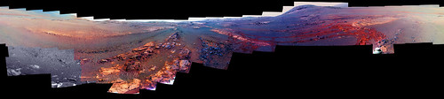Opportunity's Last Panorama, variant