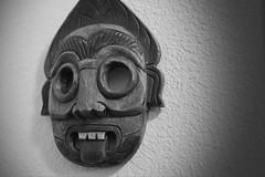 74/365 Arrogant Tribesman (OhWowMan) Tags: 365the2019edition 3652019 day74365 15mar19 ohwowman nikon d3300 blackandwhite blackwhite bw black white monochrome acdseepro9 mask arrogant tribesman