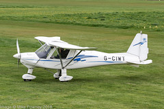 G-CIWT - 2015 build Comco Ikarus C42 FB80, visiting Barton (egcc) Tags: 15077398 barton c42 cityairport comco egcb fb80 gciwt ikarus lightroom lorains manchester microlight redaviation