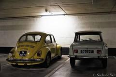 1973 Volkswagen Beetle & 1969 Citroën Ami 6 (NielsdeWit) Tags: nielsdewit car vehicle 14ad70 vw volkswagen beetle kever käfer 113021 dz2271 citroën ami 6 1973 1969 amsterdam