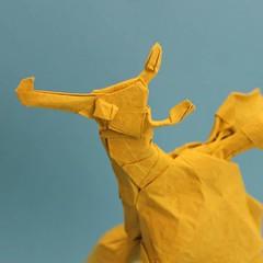 Sea Dragon (Anicé Claudéon) Tags: origami sea dragon pliage ocean