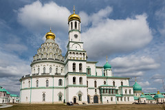 Resurrection Cathedral of the New Jerusalem monastery, Russia, Istra (psvrusso) Tags: dome cross architecture monastery orthodox tower cathedral religion russia church jerusalem gold famous istra christianity resurrection temple decoration building history old culture ancient bell russian voskresensky landmarks exterior outdoors cupola golden landmark roof moscowregion newjerusalem belltower worship monks religious outdoor faith historical pilgrimage buildings ornaments traditional sightseeing