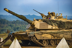 The M1A2 Abrams Main battle tank. (Military Armed Forces) Tags: indiananationalguard spp slovakia 81sttroopcommand lest sk