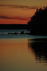 Schweden 08 267-1 (Andre56154) Tags: schweden08 schweden sweden sverige wasser water see lake ufer himmel sky wolke cloud landschaft landscape abendrot afterglow sonnenuntergang sunset