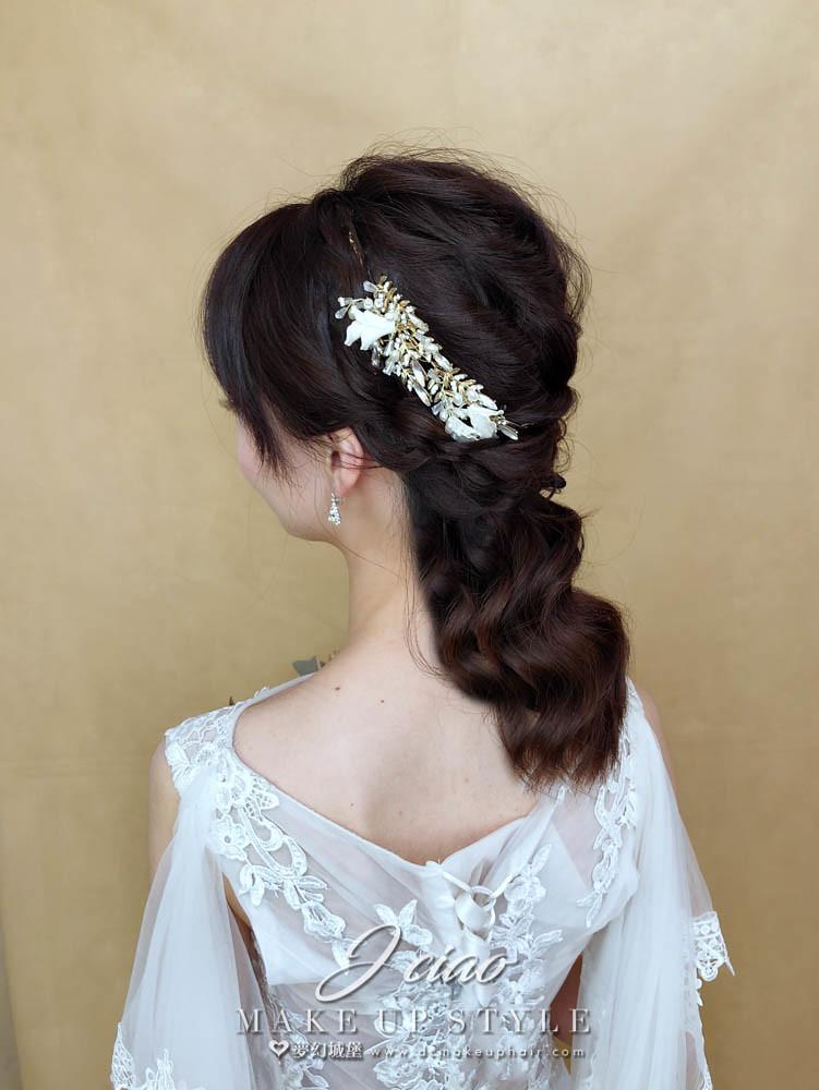 【新秘婕喬】新娘造型創作 / 優雅線條造型