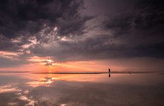 Salt Pans (selvagedavid38) Tags: salt pans reflections clouds mirror nata botswana makgadikgadi flood person figure sun sol island small