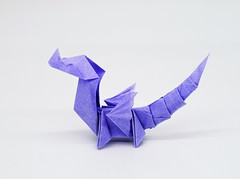 Baby Dragon (Gregorigami) Tags: origami babydragon dragon drache baby babydrache fantasy origamibabydragon