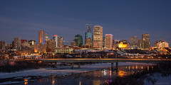 _SSS1220-HDR.jpg (S.S82) Tags: edmonton travelphoto morning landscape sunrise dawn nature alberta jasperave downtown canada northsaskatchewanriver picoftheday jamesmacdonaldbridge ss82 landscapephotography keepexploring landscapecaptures travelworld ca