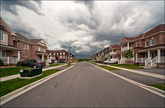 oakville_clouds_suburb_wide_01_8773843465_o (wvs) Tags: alley clouds home house oakville people sky street suburb toronto ontario canada can