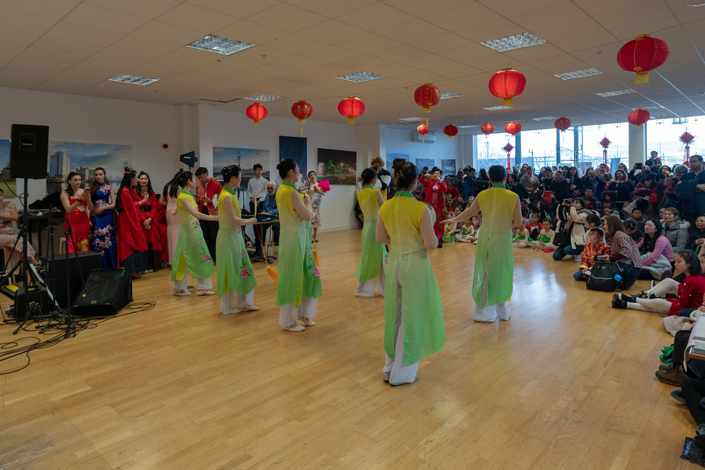 YEAR OF THE PIG - LUNAR NEW YEAR CELEBRATION AT THE CHQ IN DUBLIN [OFTEN REFERRED TO AS CHINESE NEW YEAR]-148947